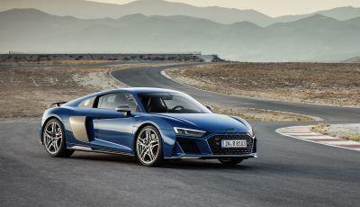 Nuova Audi R8 2019 Coupé e Spider: il V10 aspirato arriva a 620CV