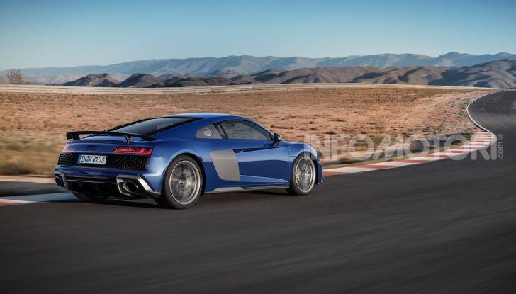 Nuova Audi R8 2019 Coupé e Spider: il V10 aspirato arriva a 620CV - Foto 3 di 30