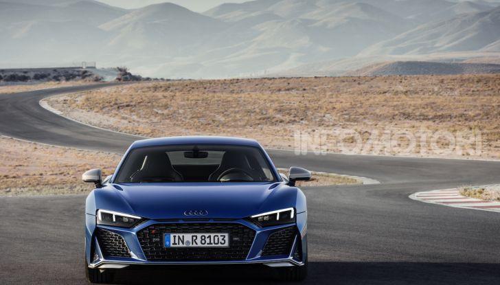 Nuova Audi R8 2019 Coupé e Spider: il V10 aspirato arriva a 620CV - Foto 29 di 30
