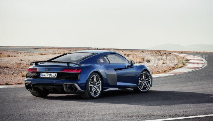 Nuova Audi R8 2019 Coupé e Spider: il V10 aspirato arriva a 620CV - Foto 7 di 30