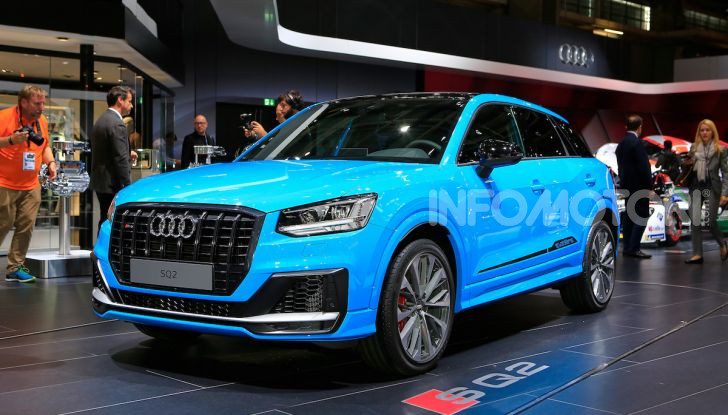 Audi SQ2, SUV ad alte prestazioni da 300 CV - Foto 1 di 12