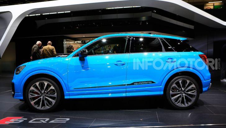 Audi SQ2, SUV ad alte prestazioni da 300 CV - Foto 5 di 12