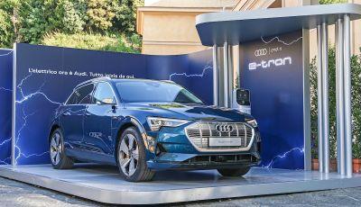 La nuova Audi e-tron sviluppata insieme ad Enel X