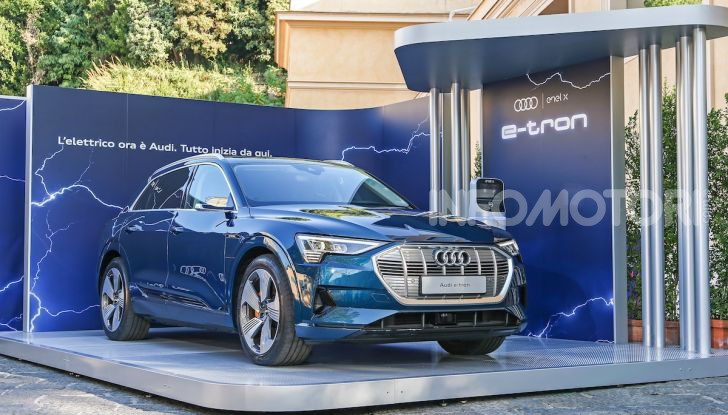La nuova Audi e-tron sviluppata insieme ad Enel X - Foto 1 di 13