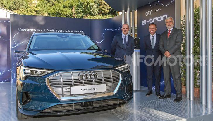 La nuova Audi e-tron sviluppata insieme ad Enel X - Foto 2 di 13