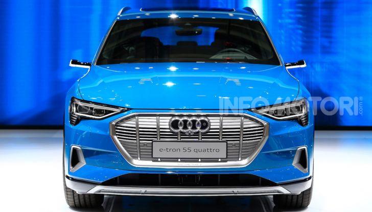 Audi: il SUV elettrico e-Tron debutta per sfidare Tesla - Foto 3 di 25