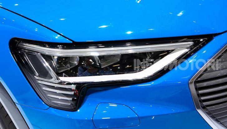 Audi: il SUV elettrico e-Tron debutta per sfidare Tesla - Foto 13 di 26