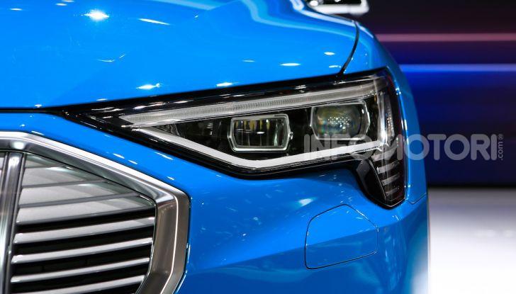 Audi: il SUV elettrico e-Tron debutta per sfidare Tesla - Foto 5 di 26