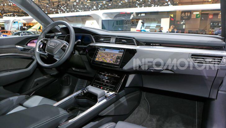 Audi: il SUV elettrico e-Tron debutta per sfidare Tesla - Foto 16 di 26