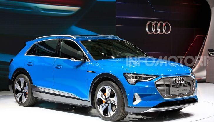 Audi: il SUV elettrico e-Tron debutta per sfidare Tesla - Foto 6 di 26