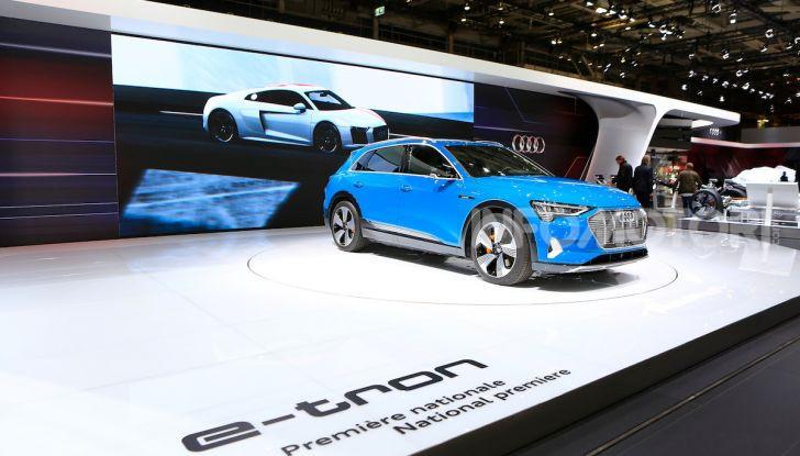 Audi: il SUV elettrico e-Tron debutta per sfidare Tesla - Foto 20 di 25