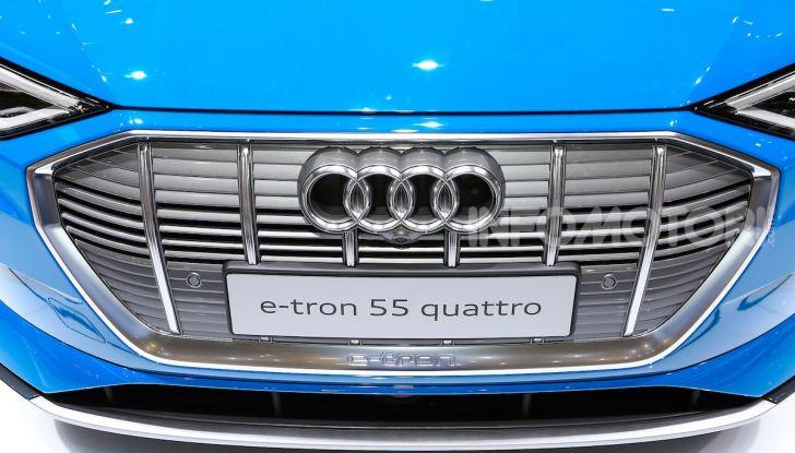 Audi: il SUV elettrico e-Tron debutta per sfidare Tesla - Foto 22 di 26
