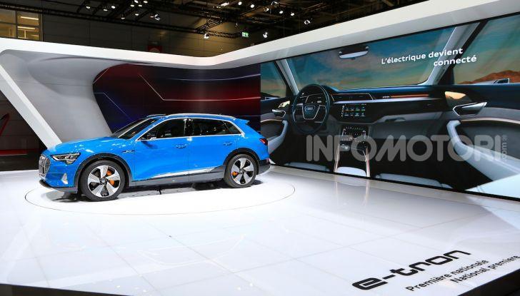 Audi: il SUV elettrico e-Tron debutta per sfidare Tesla - Foto 22 di 25