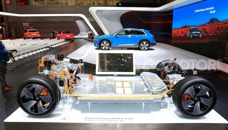 Audi: il SUV elettrico e-Tron debutta per sfidare Tesla - Foto 23 di 25