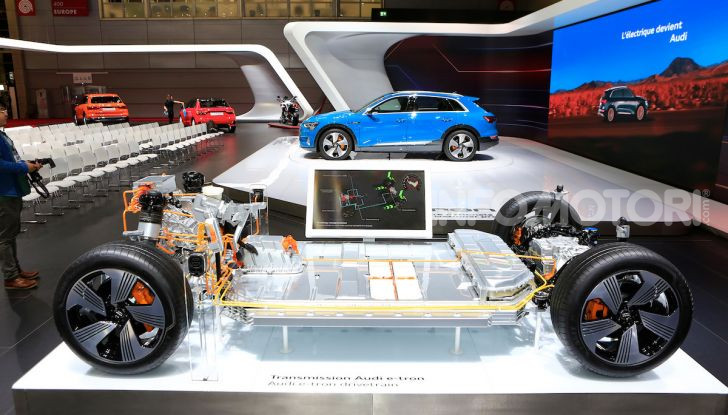 Quanto costa il pieno con un'Audi elettrica? - Foto 24 di 26