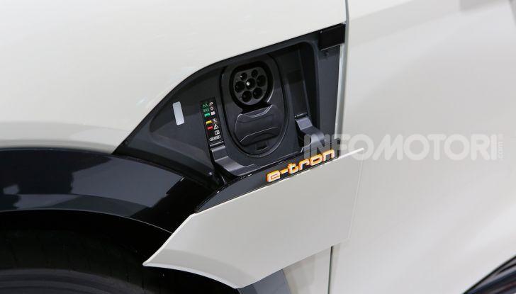 Quanto costa il pieno con un'Audi elettrica? - Foto 25 di 26