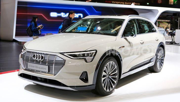 Audi: il SUV elettrico e-Tron debutta per sfidare Tesla - Foto 25 di 25
