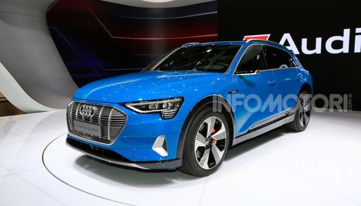 Audi: il SUV elettrico e-Tron debutta per sfidare Tesla - Foto 1 di 26