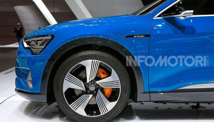 Audi: il SUV elettrico e-Tron debutta per sfidare Tesla - Foto 8 di 26
