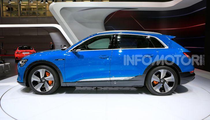 Audi: il SUV elettrico e-Tron debutta per sfidare Tesla - Foto 9 di 26