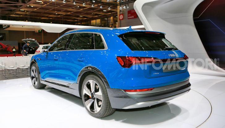 Audi: il SUV elettrico e-Tron debutta per sfidare Tesla - Foto 2 di 25