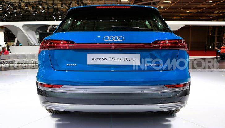 Audi: il SUV elettrico e-Tron debutta per sfidare Tesla - Foto 10 di 26
