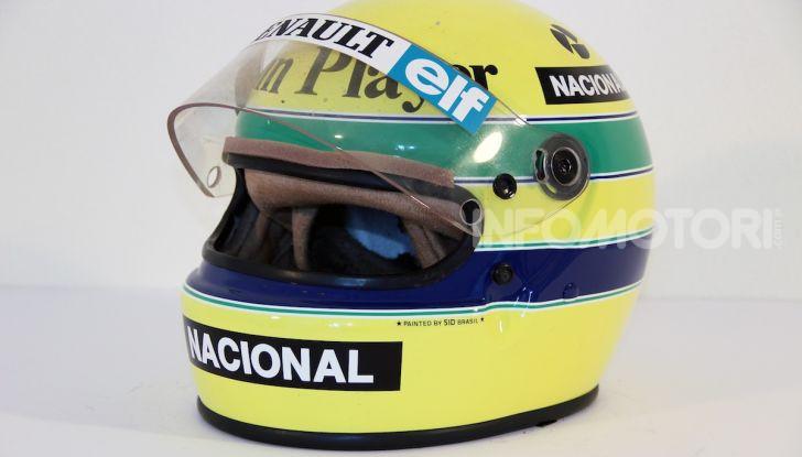 All'asta su CataWiki per 150.000€ il casco di Ayrton Senna - Foto 1 di 11