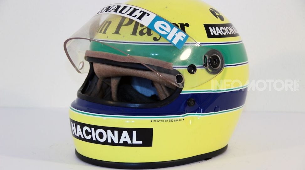 All'asta su CataWiki per 150.000€ il casco di Ayrton Senna