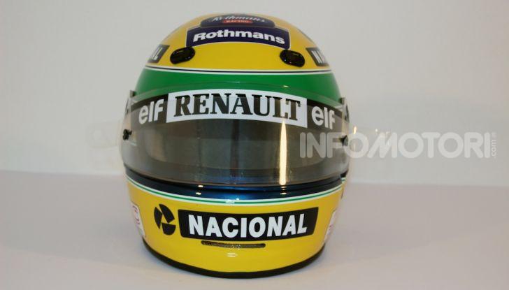 All'asta su CataWiki per 150.000€ il casco di Ayrton Senna - Foto 4 di 11