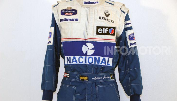 All'asta su CataWiki per 150.000€ il casco di Ayrton Senna - Foto 2 di 11