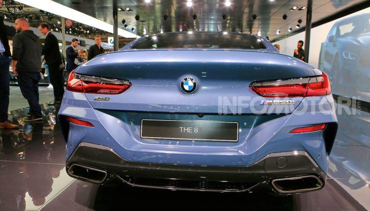 BMW Serie 8 Coupè 2018 al debutto con 530 CV - Foto 12 di 36