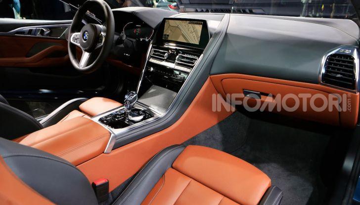 BMW Serie 8 Coupè 2018 al debutto con 530 CV - Foto 15 di 36