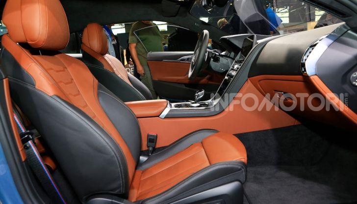 BMW Serie 8 Coupè 2018 al debutto con 530 CV - Foto 16 di 36