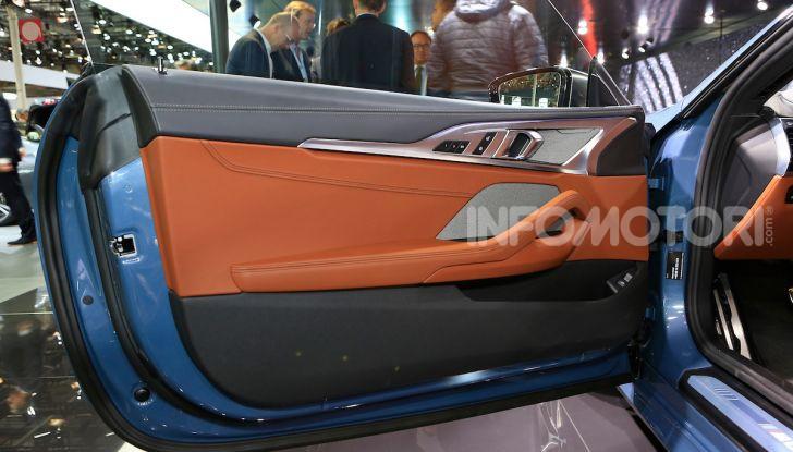 BMW Serie 8 Coupè 2018 al debutto con 530 CV - Foto 17 di 36