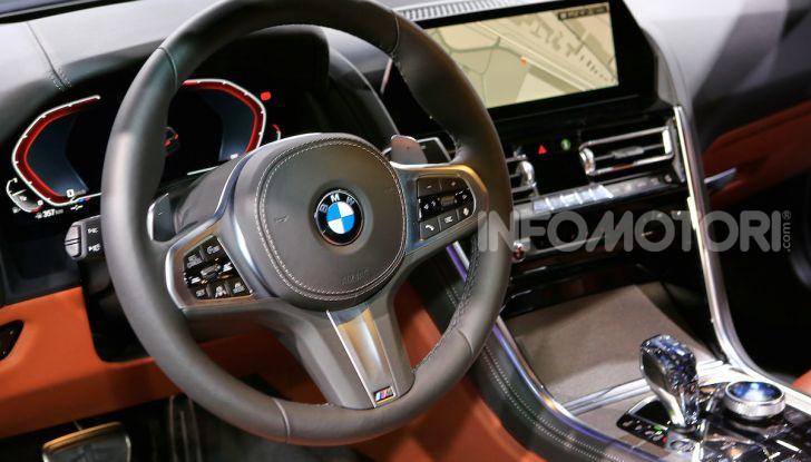 BMW Serie 8 Coupè 2018 al debutto con 530 CV - Foto 18 di 36