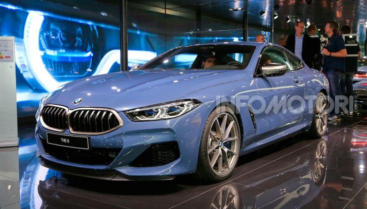 BMW Serie 8 Coupè 2018 al debutto con 530 CV - Foto 1 di 36