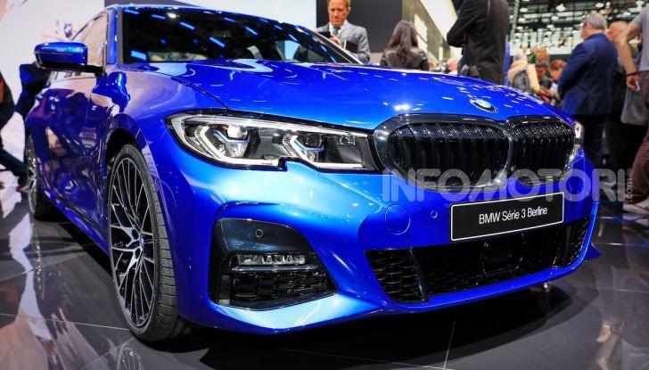 Nuova BMW Serie 3, la berlina dell'elica pronta al debutto - Foto 11 di 35