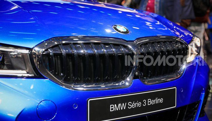 Nuova BMW Serie 3, la berlina dell'elica pronta al debutto - Foto 13 di 35