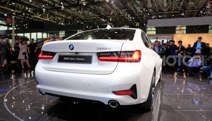 Nuova BMW Serie 3, la berlina dell'elica pronta al debutto - Foto 20 di 35