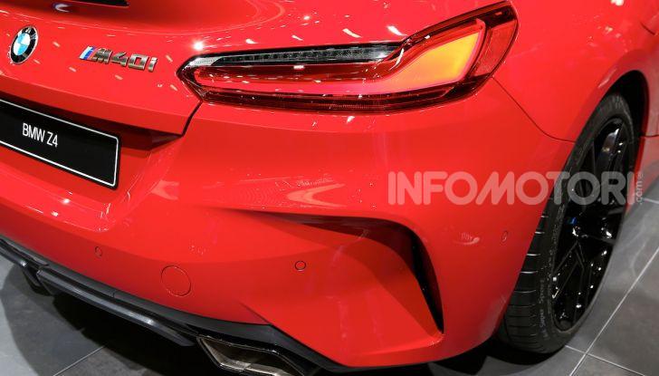 BMW Z4 2018: Eccentrica e vorace per il nuovo corso dell'Elica - Foto 13 di 23