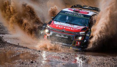 WRC Gran Bretagna 2018: il team Citroën schiera due C3 WRC