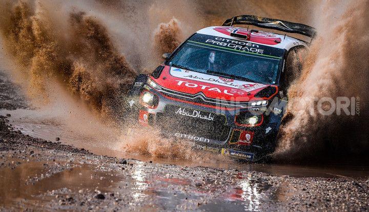 WRC Gran Bretagna 2018: il team Citroën schiera due C3 WRC - Foto  di