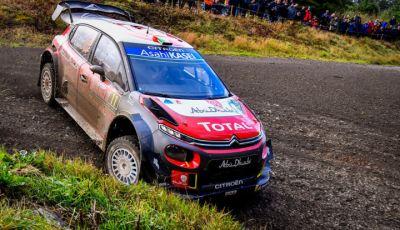 WRC Gran Bretagna 2018: lo shakedown per gli equipaggi Citroën