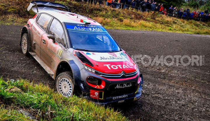 WRC Gran Bretagna 2018: lo shakedown per gli equipaggi Citroën - Foto  di
