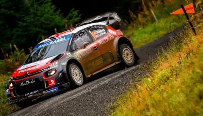 WRC Gran Bretagna 2018: un ricordo del 2009 del team Citroën