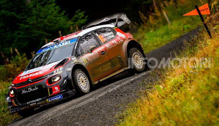 WRC Gran Bretagna 2018: un ricordo del 2009 del team Citroën - Foto  di