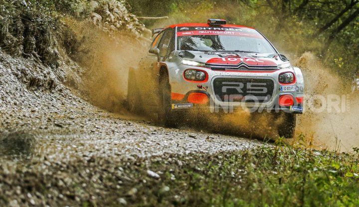 WRC2 Gran Bretagna 2018: un apprendimento importante per la Citroën C3 R5 - Foto  di