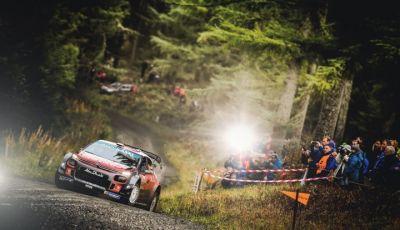 WRC Gran Bretagna 2018: Citroën a un passo dal podio