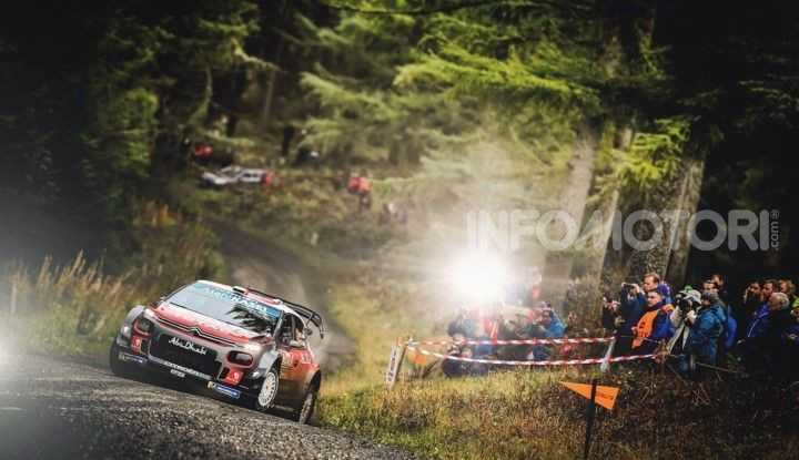WRC Gran Bretagna 2018: Citroën a un passo dal podio - Foto  di