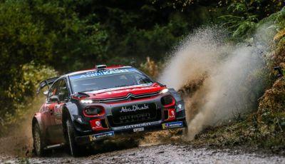 WRC Gran Bretagna 2018 - giornata 1: risultato di tutto rispetto per Citroën